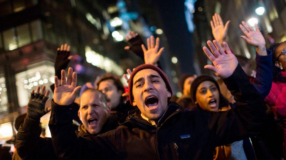 Der Fall Eric Garner: Proteste nach Jury-Entscheidung