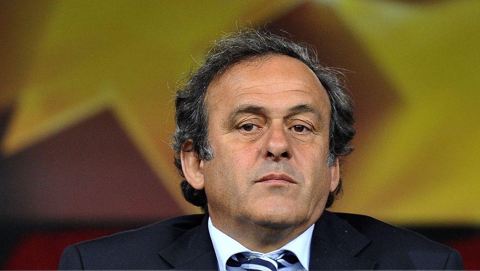 """Michel Platini: """"Ich mache keine Politik, ich mache Fußball"""""""