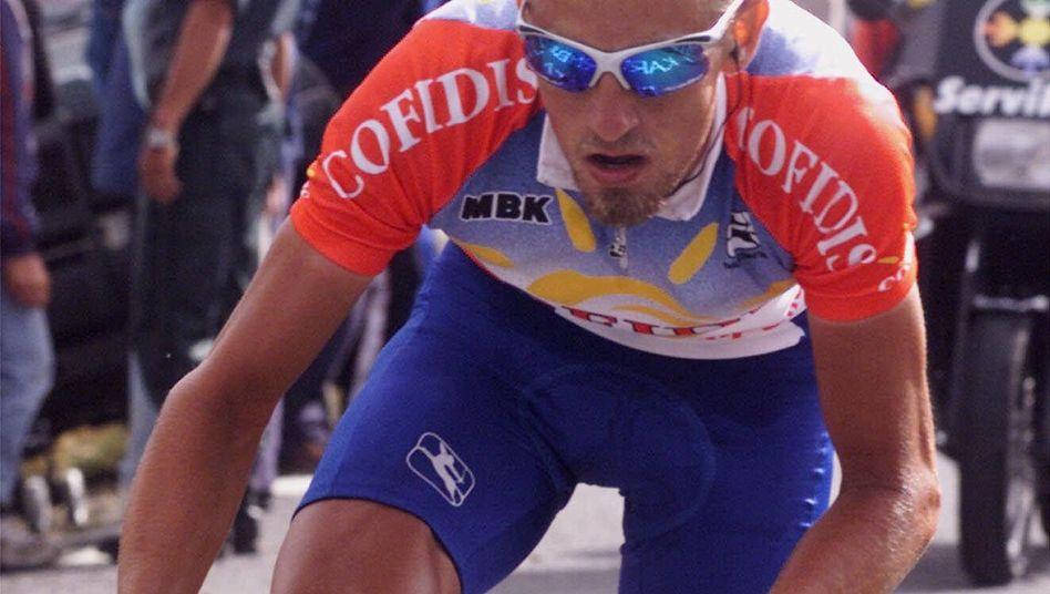 Radprofi Vandenbroucke: Auf dem Weg zum Etappensieg bei der Spanien-Rundfahrt 1999