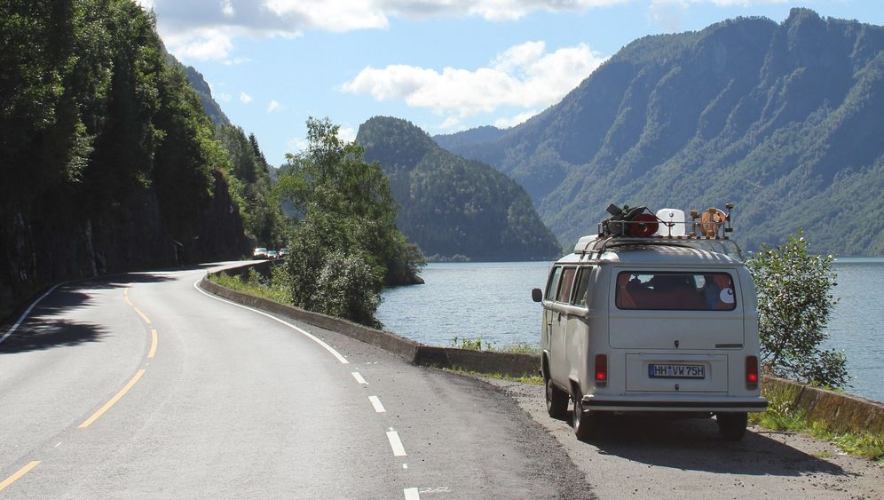 """Zum Preikestolen in Norwegen: Mit Bulli """"Kotten"""" zum Preikestolen"""