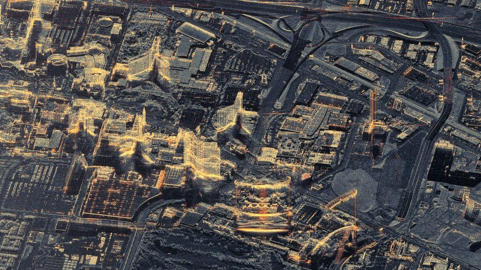 Satellitenbild der Woche: Las Vegas