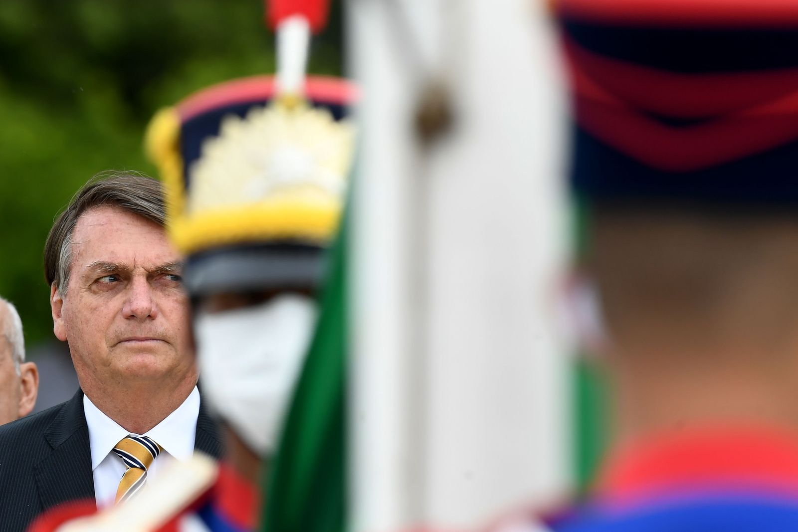 BRAZIL-GOVERNMENT-BOLSONARO-FLAG DAY