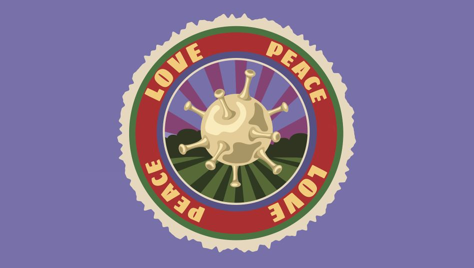 Woodstock-Patch: Love und Peace