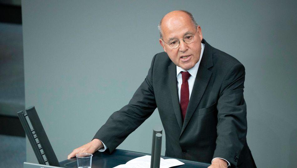 Gregor Gysi will im Bundestag bleiben