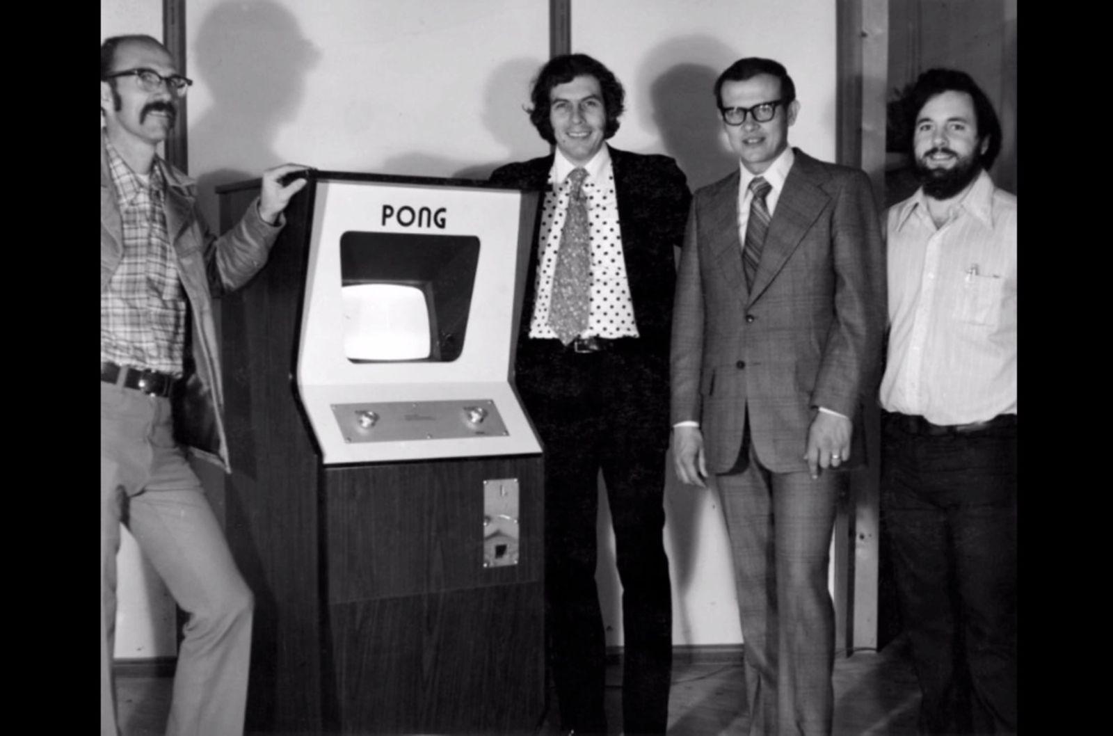 NUR ALS ZITAT Screenshot YouTube/ Atari/ Pong/ Ted Dabney