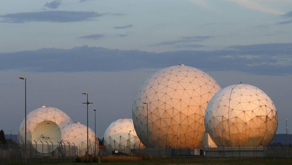 Ehemaliger NSA-Standort Bad Aibling: Der US-Geheimdienst reicht Informationen weiter