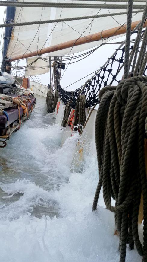 """""""Avontuur"""" auf See: Manchmal wurde es stürmisch"""