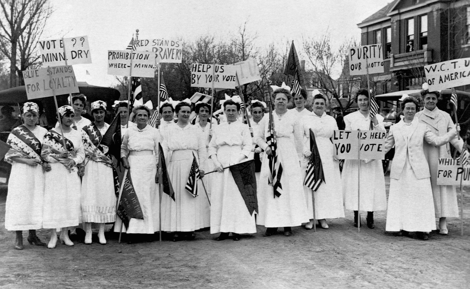 Prohibition - Women Picketing for Prohibition