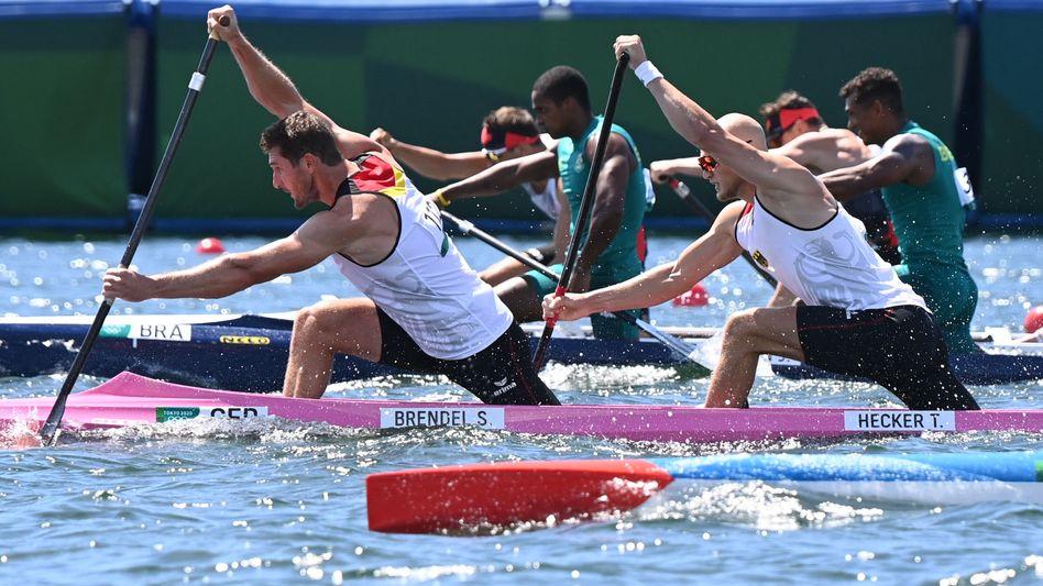 Sebastian Brendel und Tim Hecker gewannen olympische Bronze