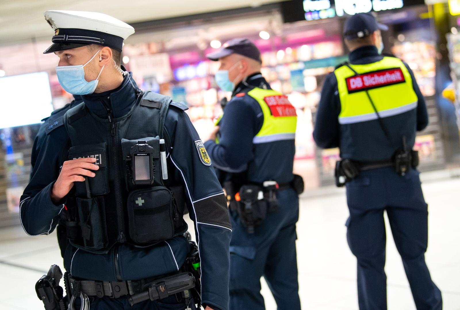 Schwerpunktkontrollen Bundespolizei und Deutsche Bahn