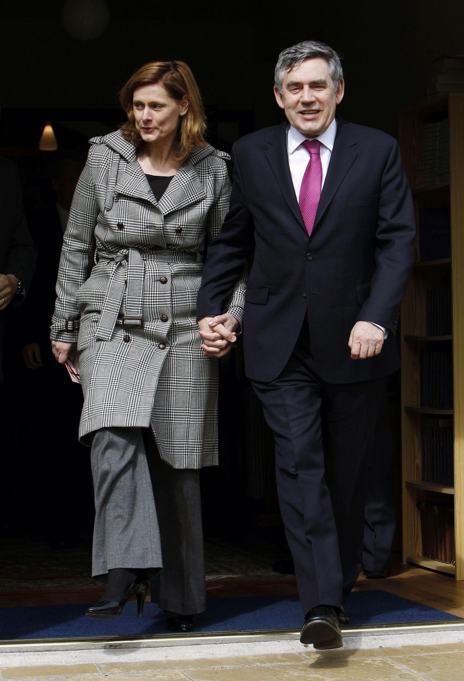 Gordon Brown Sarah