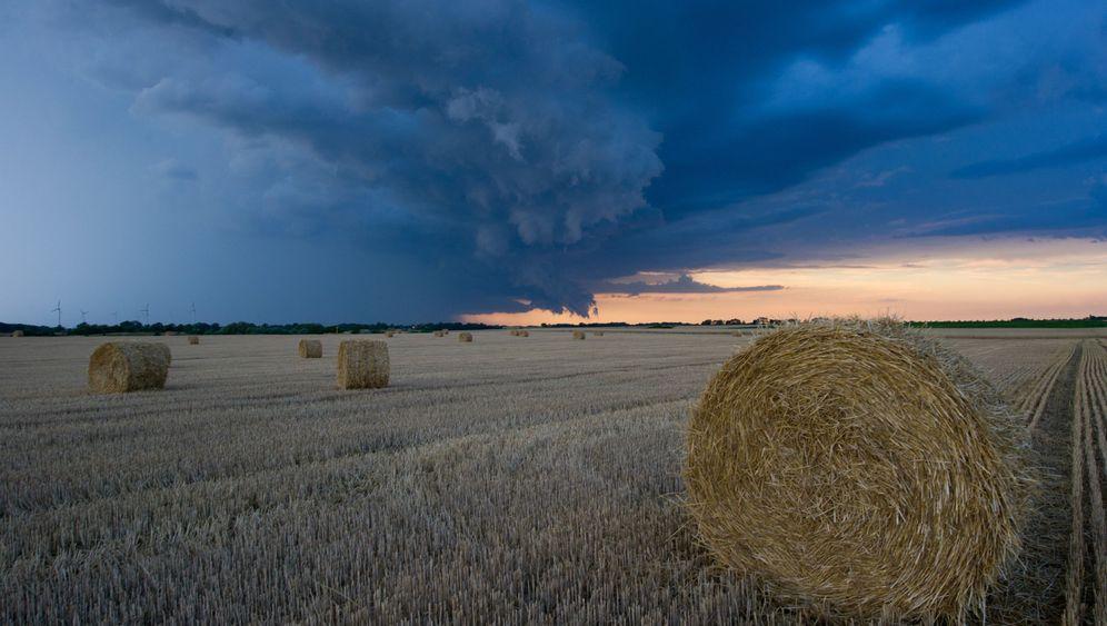 Juli in Deutschland: Ansichten des Regenwetters