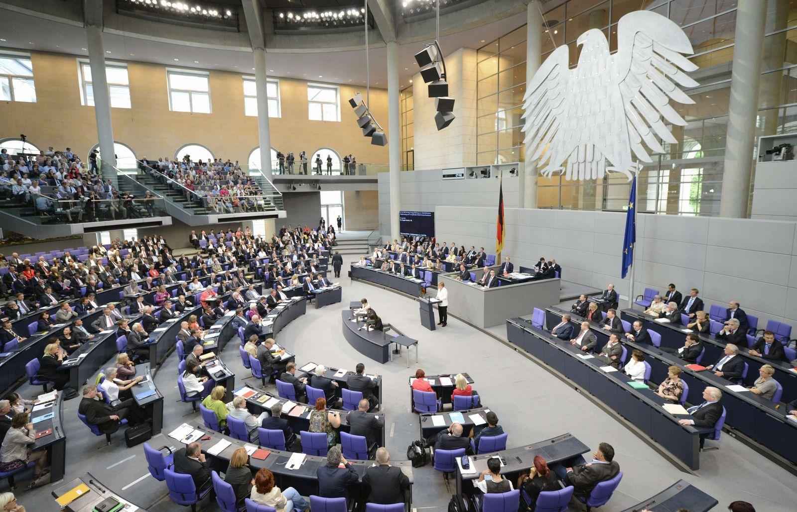 Bundestag/ Übersicht