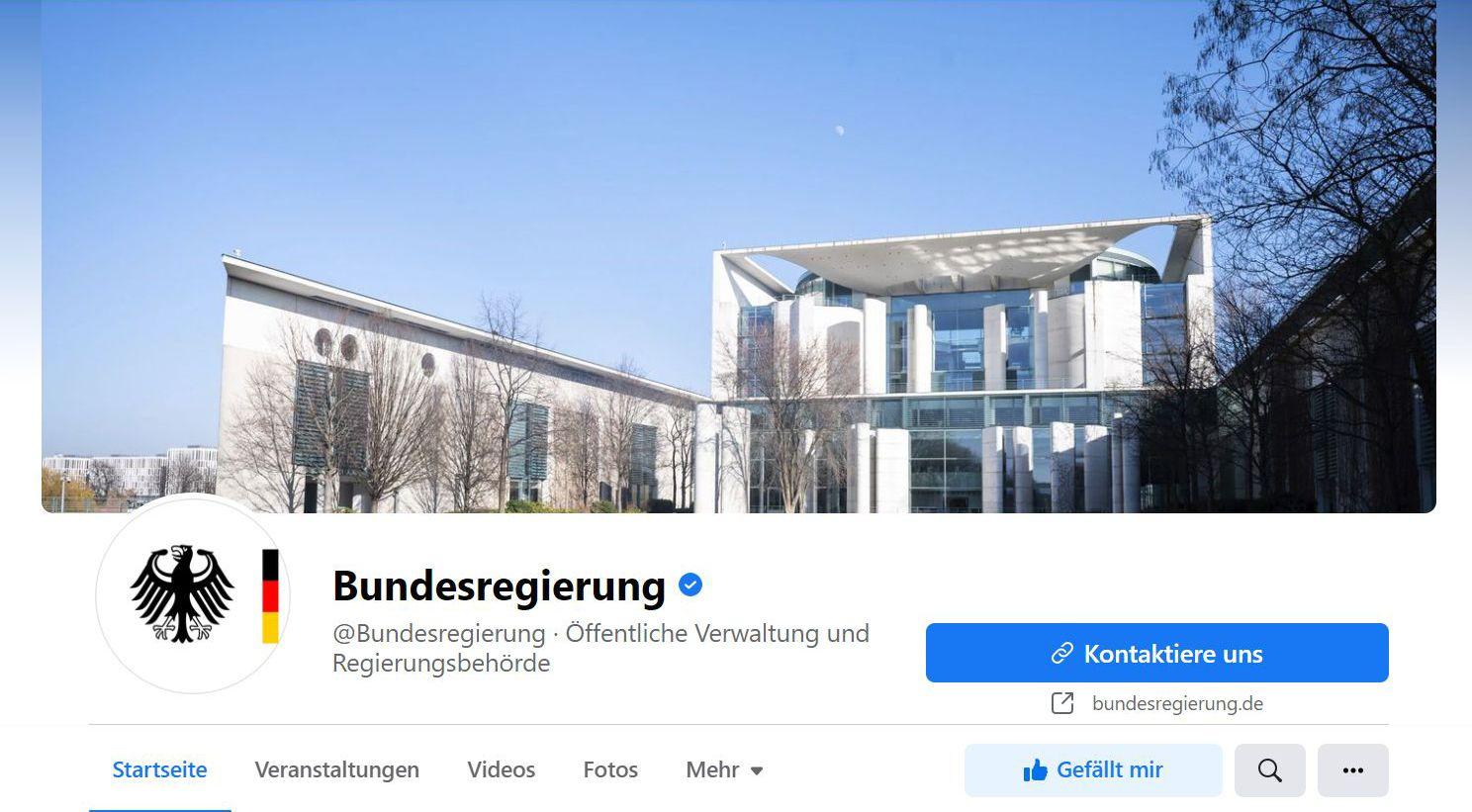 facebook-bundesregierung