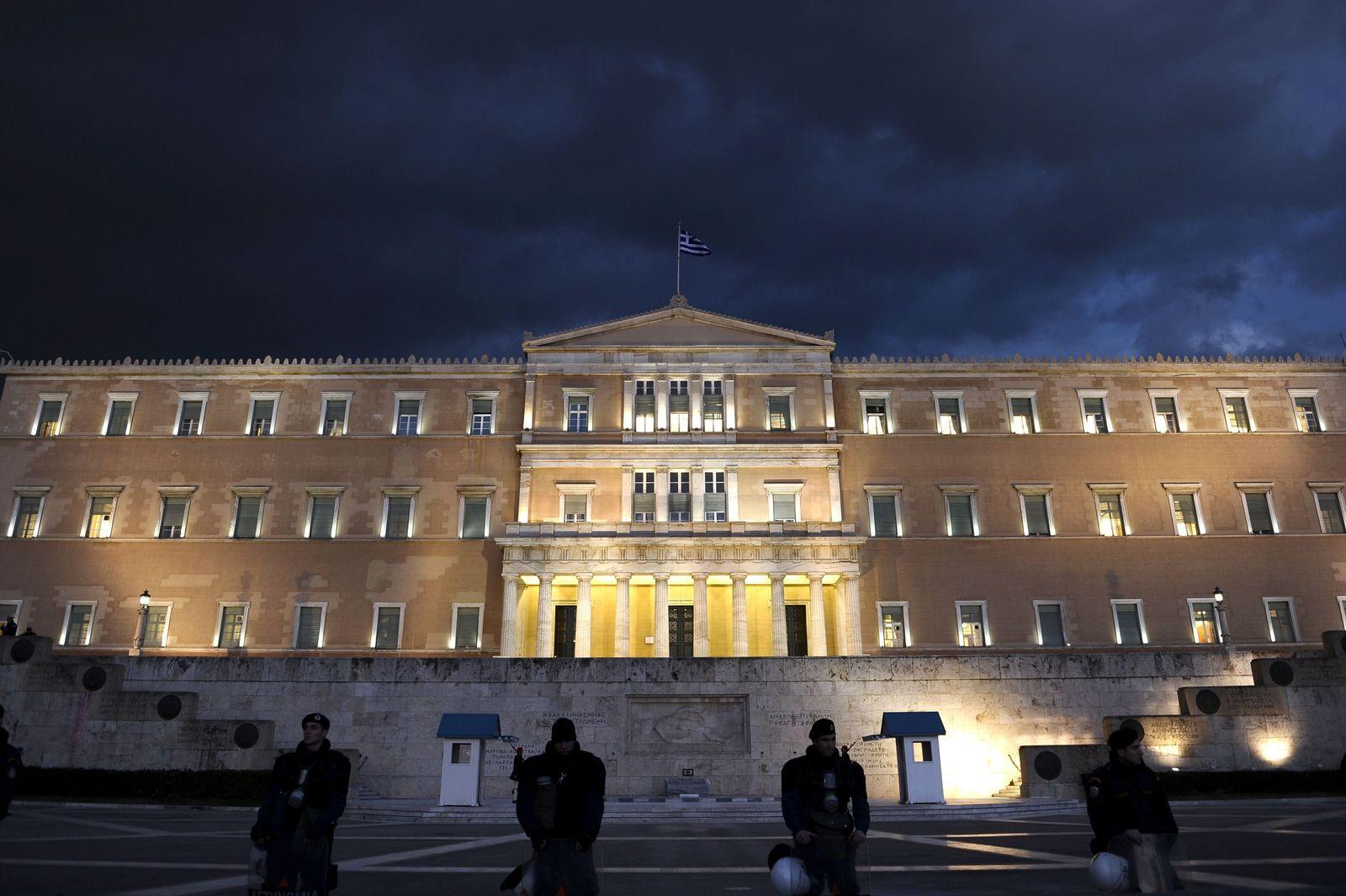 Griechenland / Athen / Finanzkrise