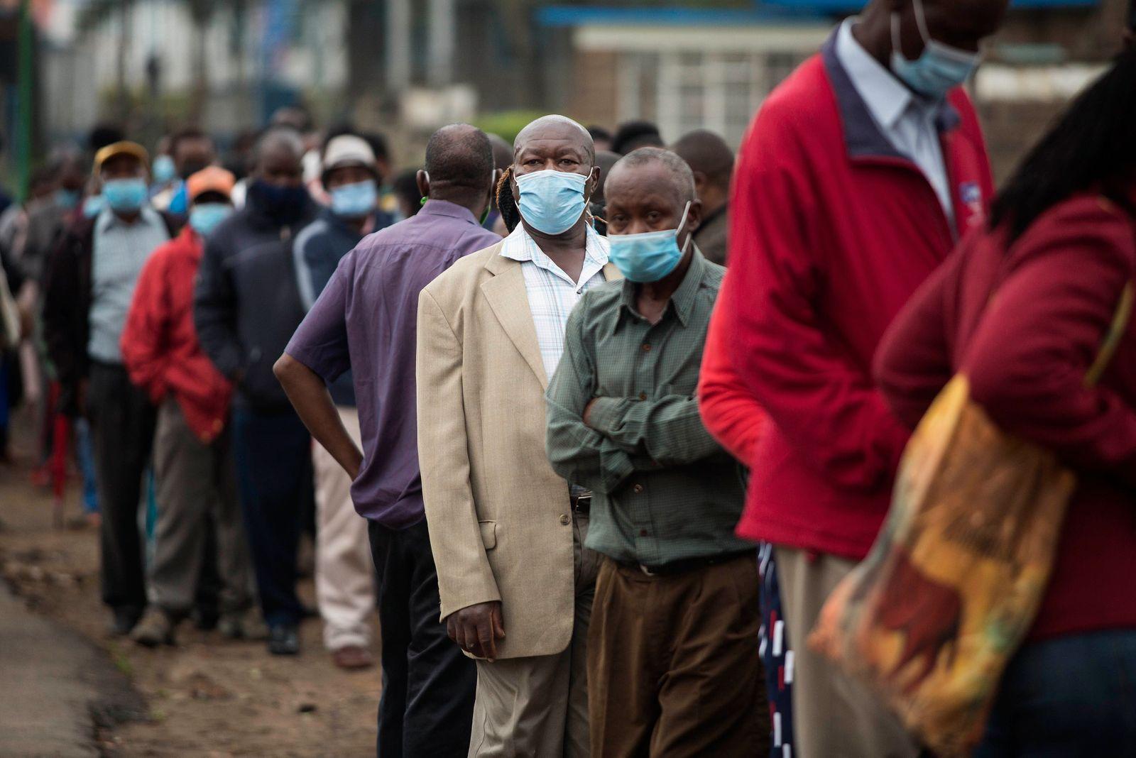 Phase 1 Of The Covid-19 Vaccination Program In Nairobi, Kenya