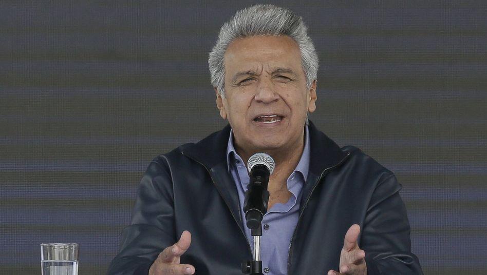 Ecuadors Präsident Lenín Moreno