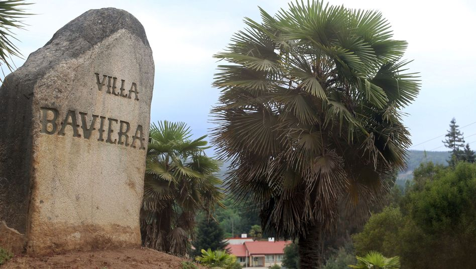 Blick auf die Villa Bavaria, die ehemalige Sektensiedlung Colonia Dignidad