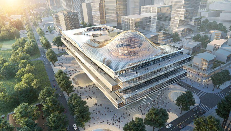 """Entwurf für die """"Shenzhen Welle"""": eine Revolution?"""