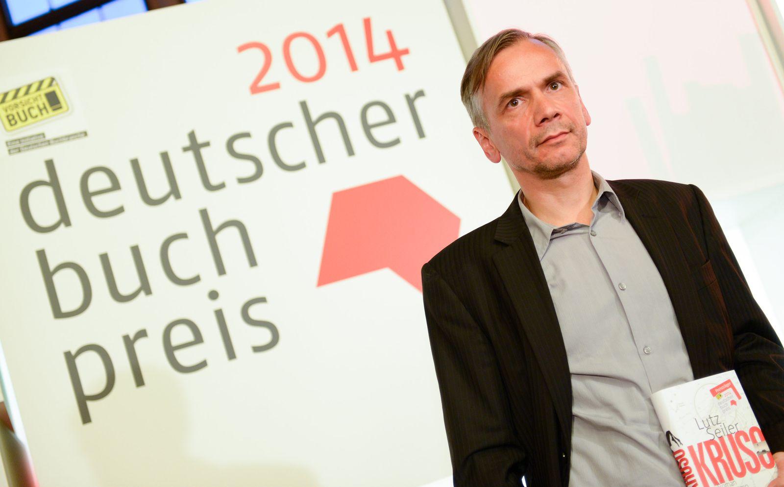 Deutscher Buchpreis 2014/ Lutz Seiler