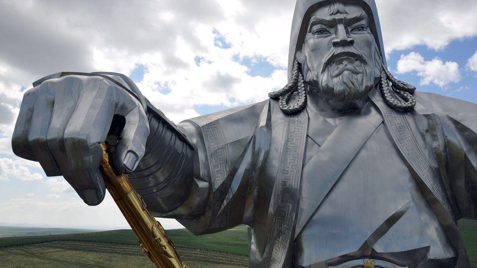 Dschingis-Khan-Statue
