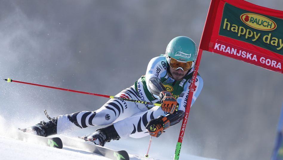 Skirennfahrer Neureuther: Fünfter in Kranjska Gora