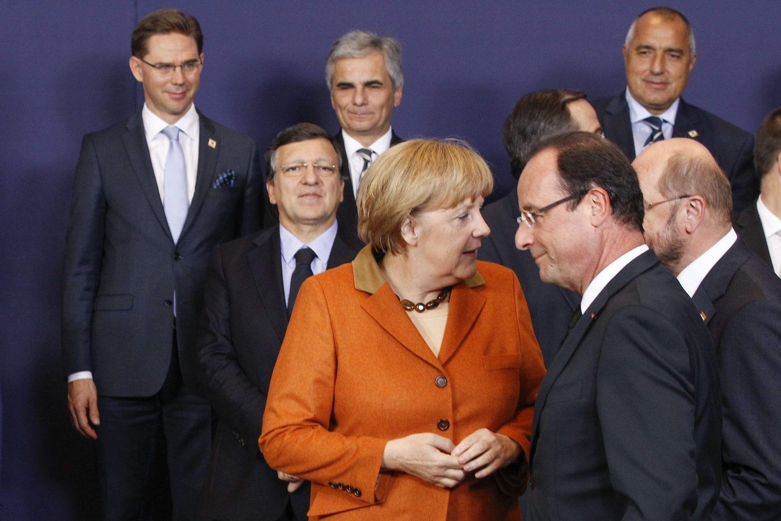 Brüssel Merkel Hollande