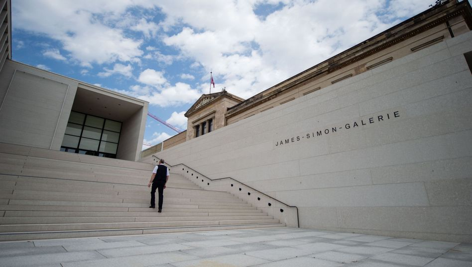 Neuer Empfangsbereich: Die James-Simon-Galerie