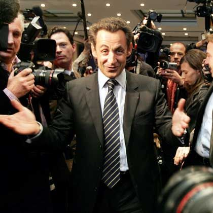 France's conservatives are pinning their hopes on Interior Minister Nicolas Sarkozy to win the presidential elections in April. But Chirac is not lending him his support.