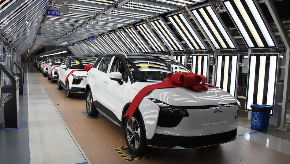 Einer der chinesischen Exporte: der SUV U5 von Aiways