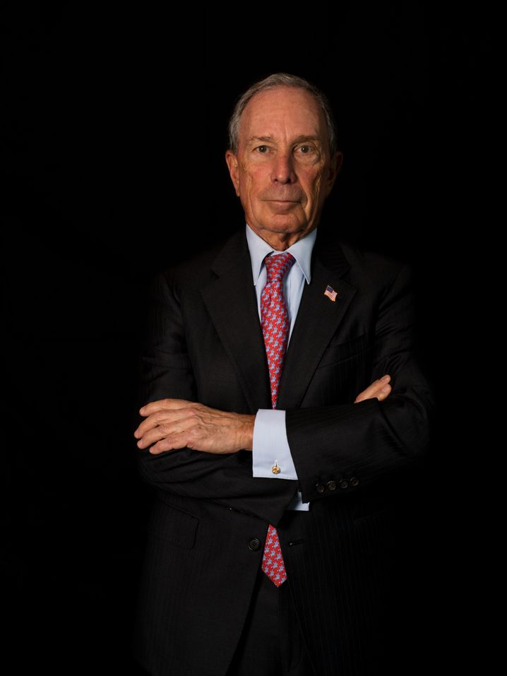 Billionaire and former New York mayor Michael Bloomberg