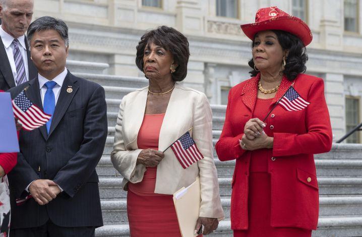 Maxine Waters, Abgeordnete der Demokraten aus Kalifornien
