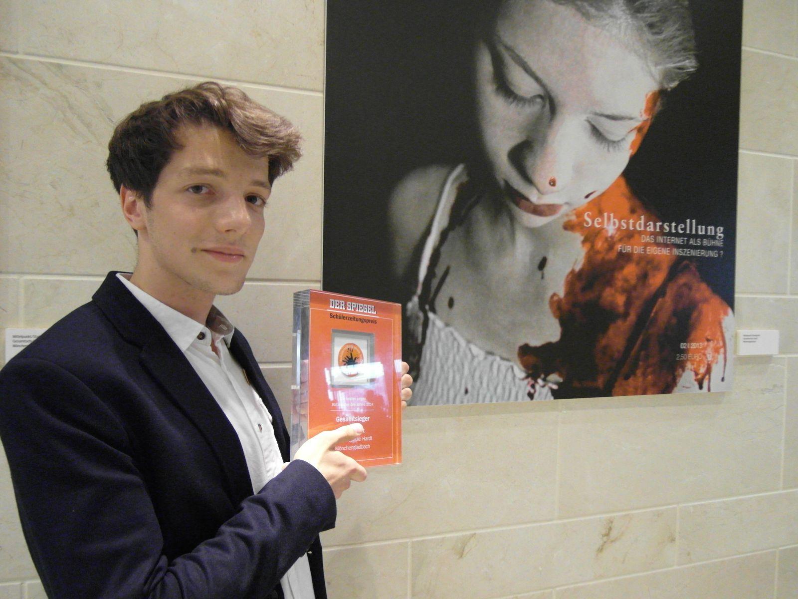 Schülerzeitungspreis / Mittelpunkt / Offermann