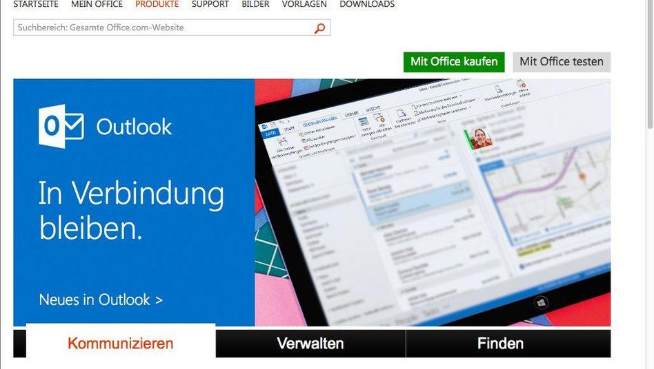 Outlook (Screenshot): Besser in Verbindung bleiben