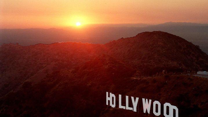 Traumfabrik-Schriftzug: Hollywoods neun Buchstaben