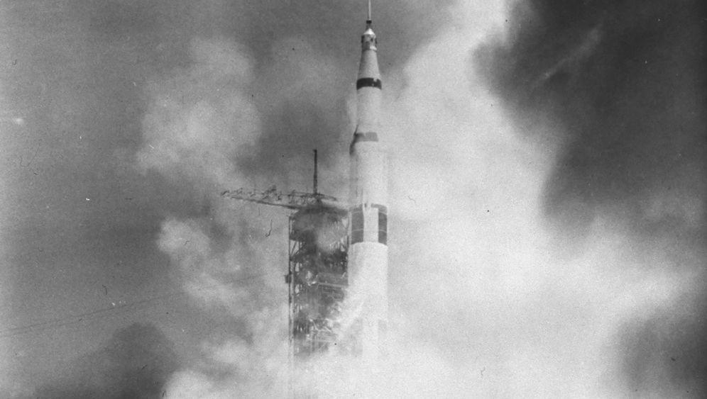 """""""Apollo 10"""": Snoopy auf dem Weg zum Mond"""