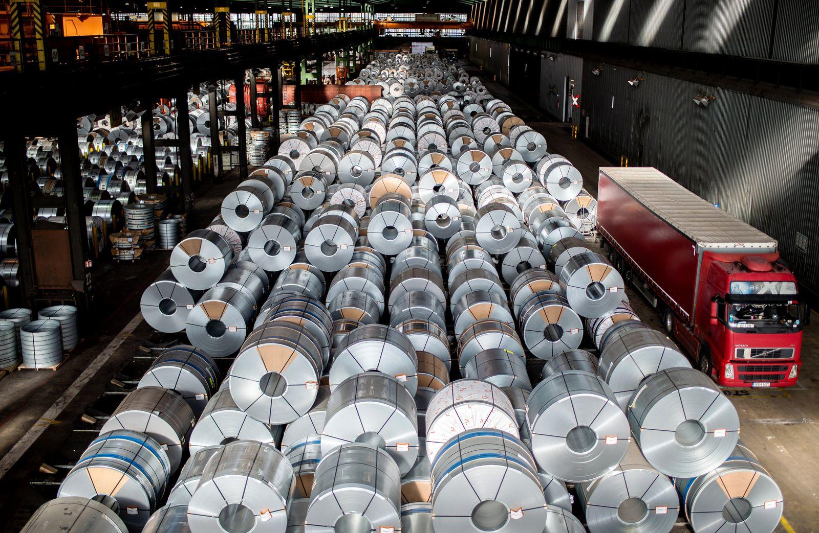 Salzgitter Stahl Jahreszahlen