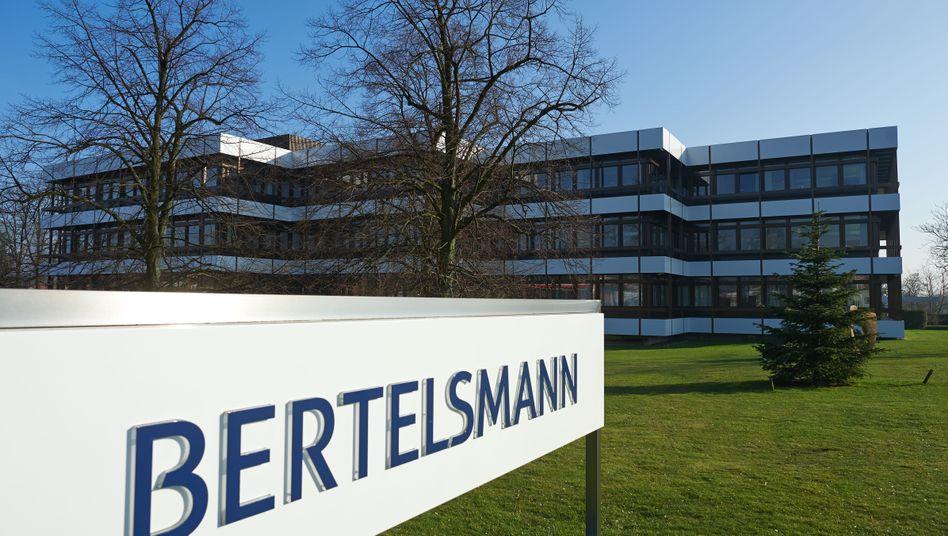 Verwaltungsgebäude von Bertelsmann in Gütersloh
