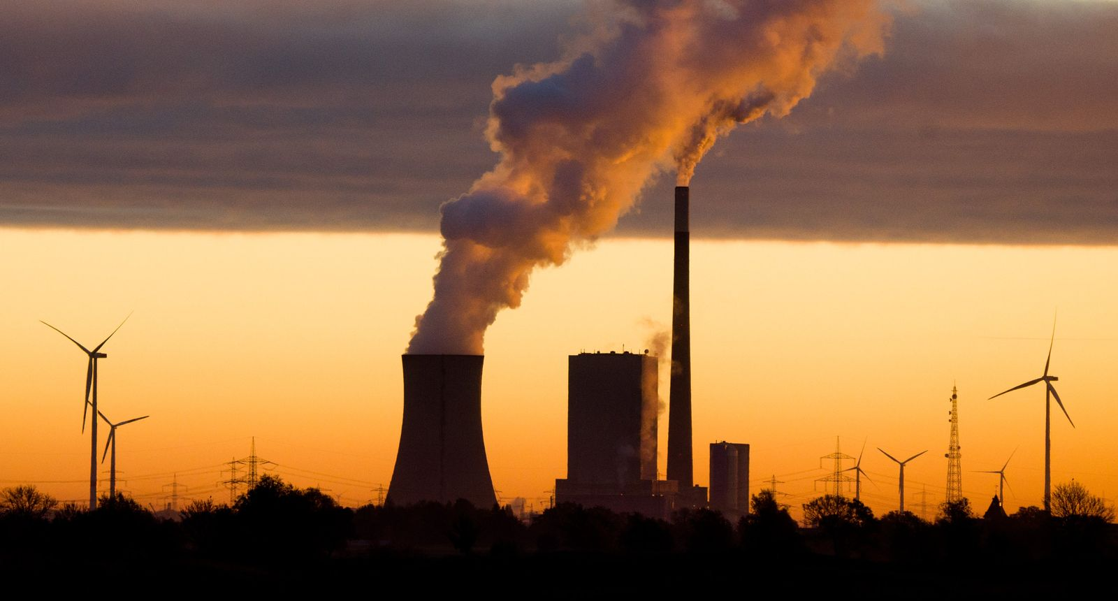 Steinkohlekraftwerk Mehrum / Kohlendioxid