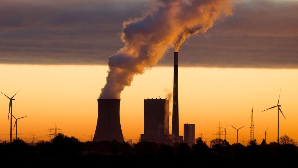 Steinkohlekraftwerk Mehrum bei Hohenhameln in Niedersachsen
