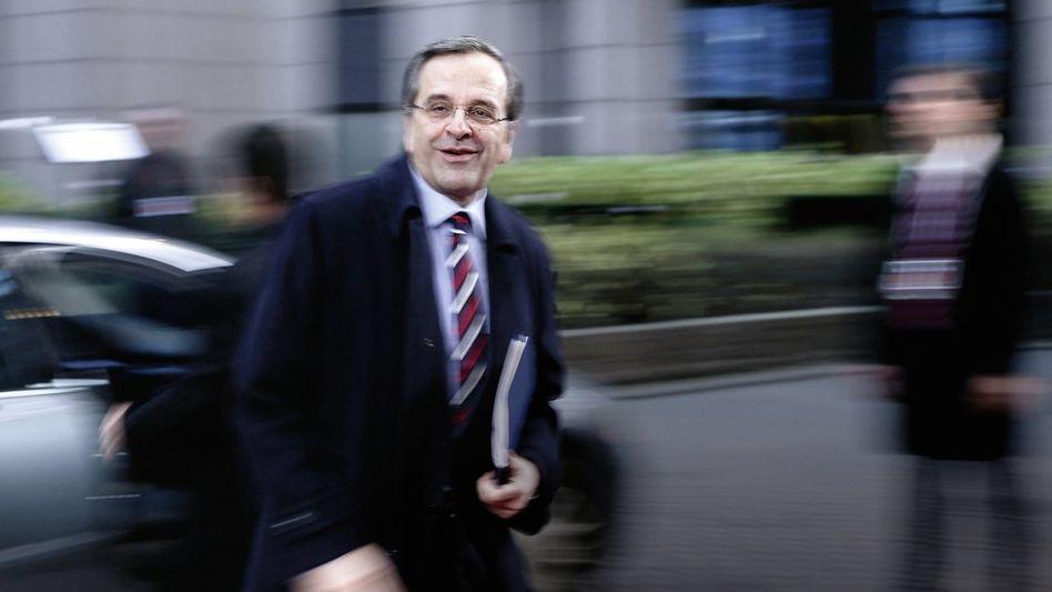 Griechischer Premierminister Samaras: »Voller Hoffnung«