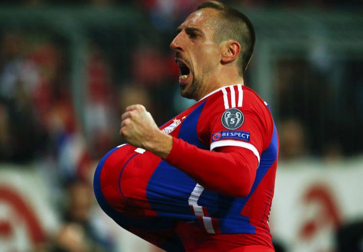 Franck Ribéry: Nicht in den Griff zu bekommen