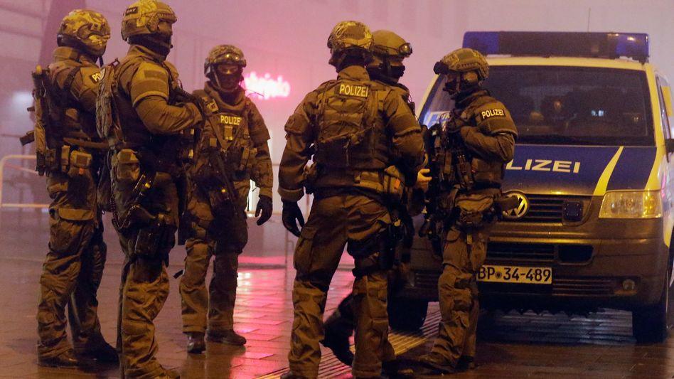 München in der Silvesternacht: Großaufgebot der Polizei reagiert auf Warnung