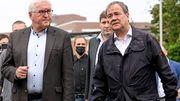 Steinmeiers und Laschets Statements in Erftstadt