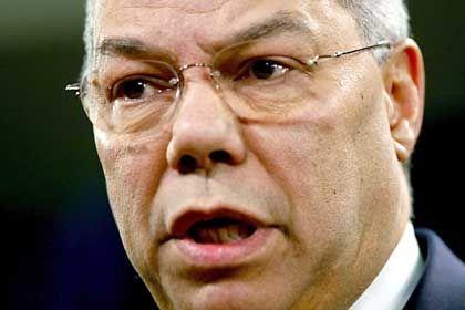 Colin Powell: 24-Stunden-Ultimatum aus Washington