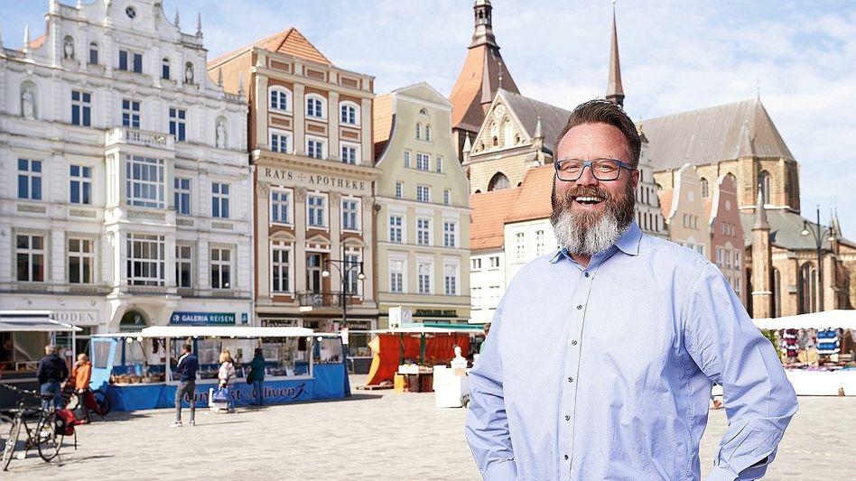 """Oberbürgermeister Madsen:""""Wieder an das Leben glauben"""""""