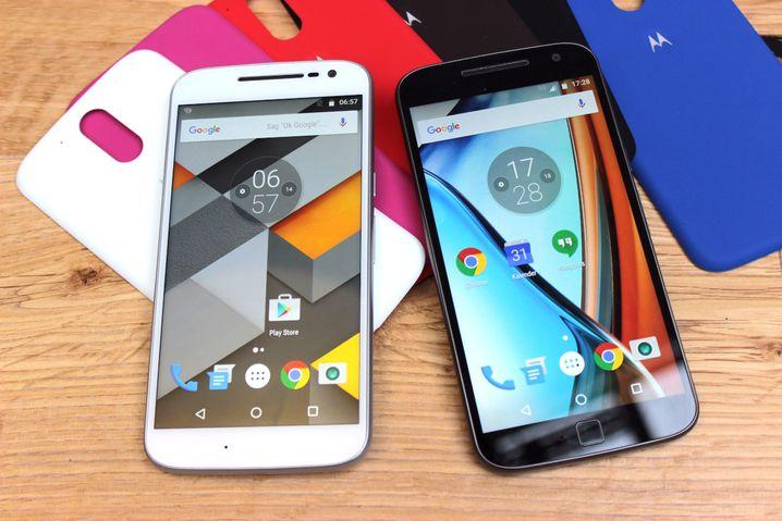 Moto G4 und G Plus erhalten Android N mit Sicherheit .