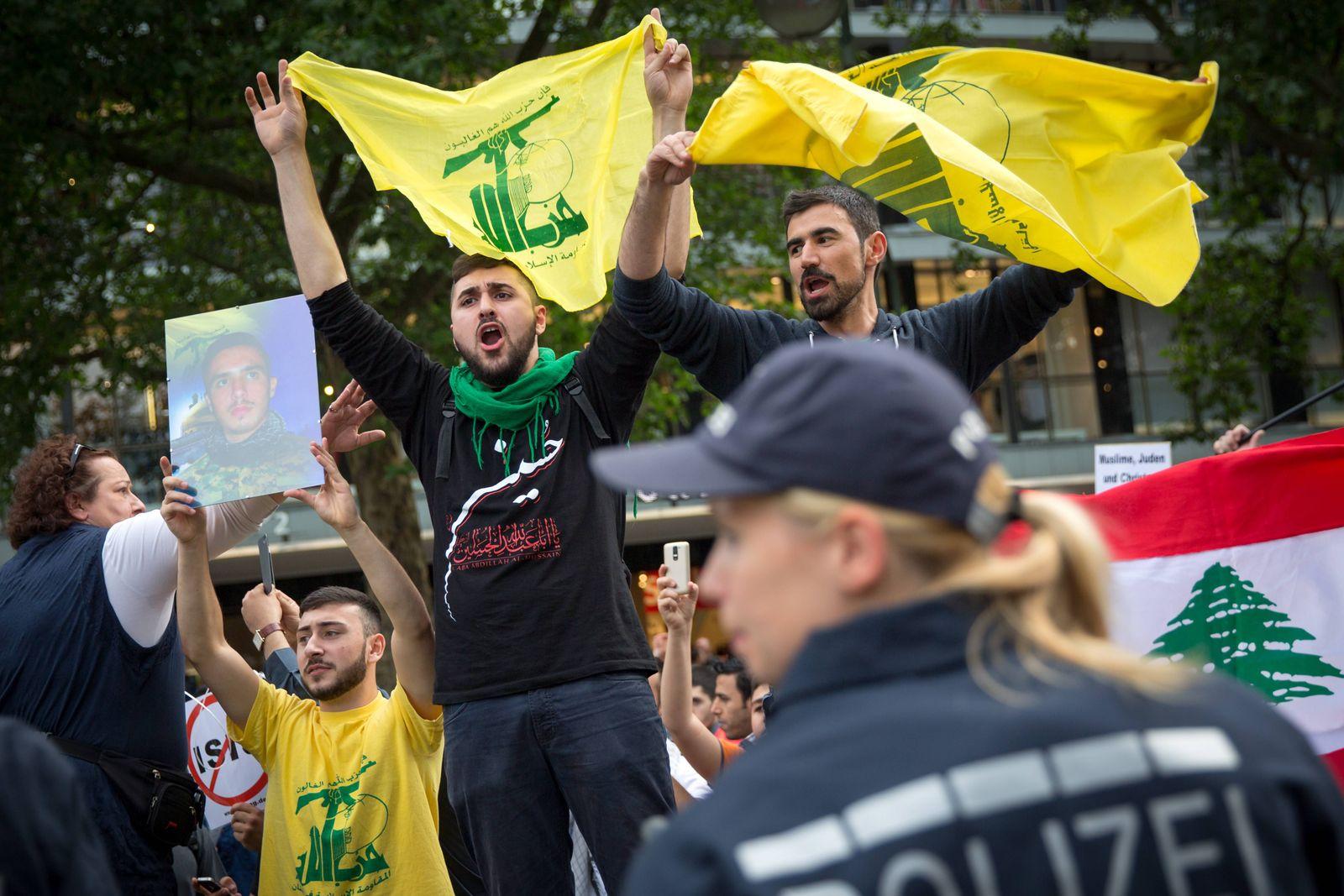 EINMALIGE VERWENDUNG Al-Quds-Tag/ Al-Quds-Marsch/ Berlin/ Hisbollah