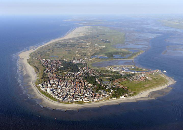 Norderney: am Außenrand Sandstrand
