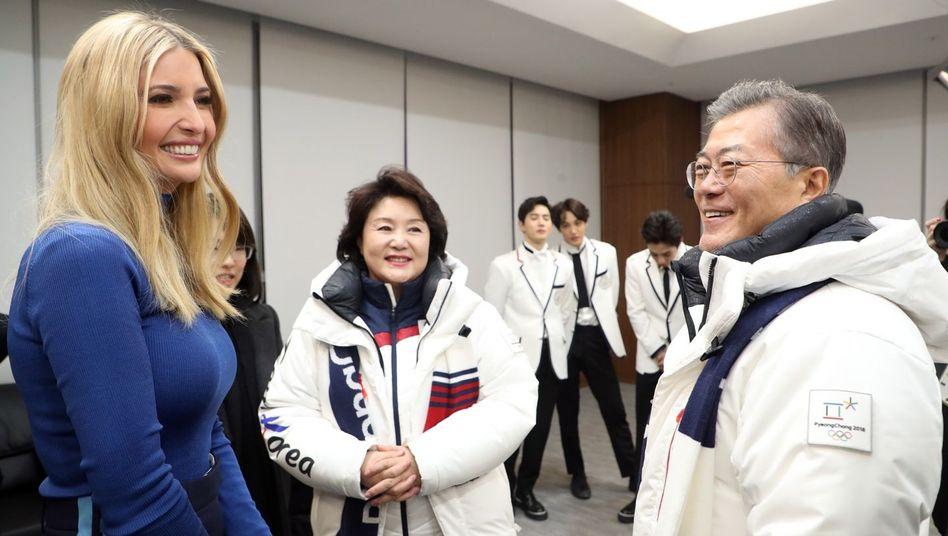 Ivanka Trump, Moon Jae In